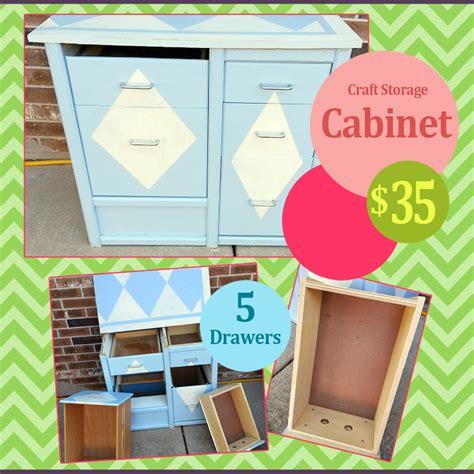 Garage Sales Ok by Reduced 5 Drawer Craft Storage Cabinet Oklahoma City