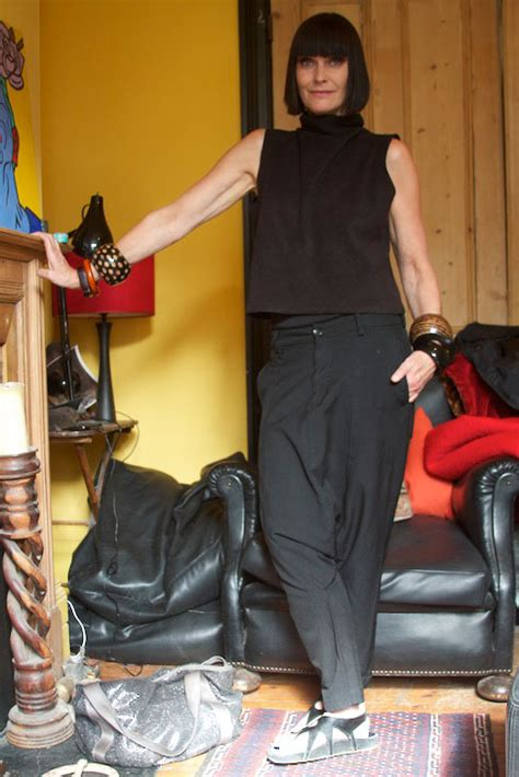 swing out sister 2014 black comme des gar 231 ons trousers bobbed hair corinne