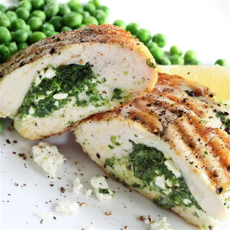 pork chops stuffed with feta and spinach cooking light spinach and feta cheese stuffed chicken bigoven
