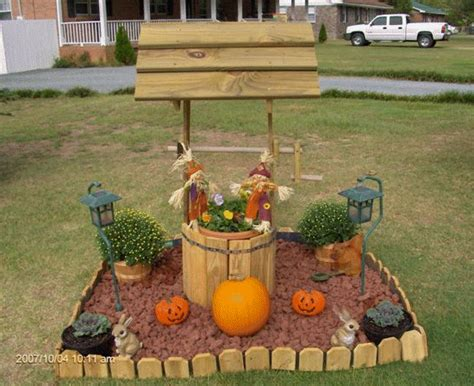 Garden Wishing Well Planter by Wishing Well Plans Garden Deck Yard Planter Decorations