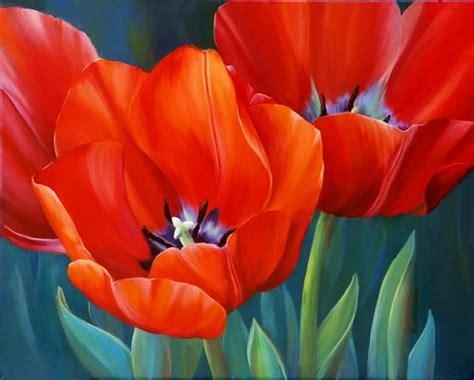 imagenes de flores asombrosas cuadros al oleo pinturas pinterest cuadro pinturas
