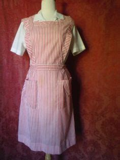 Mimi Nursing Apron Squares And Circles sugar and spice vintage striper smock v 234 tements