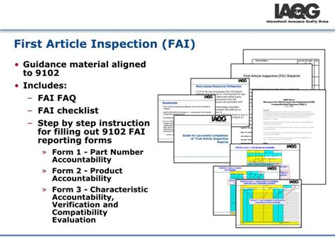 article inspection procedure template gallery of article inspection printable pdf