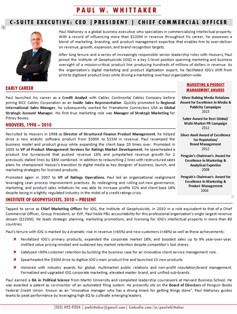 Best Teacher Resume Sample by Executive Bios The Top 10 Ways To Use One Executive