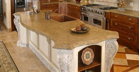 curved countertop edge details for concrete countertops the concrete network