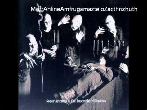 The Sleeper By Edgar Allan Poe by Sopor Aeternus The Ensemble Of Shadows The Sleeper By