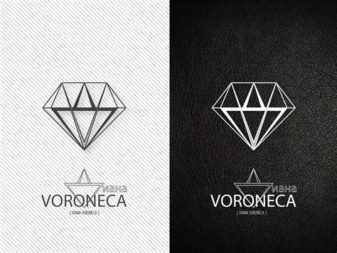 diamond pattern logo diamond logo voroneca