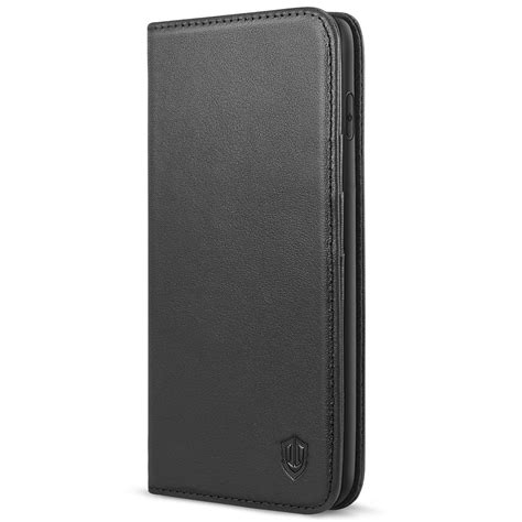 shieldon iphone xs max wallet iphone xs max leather black