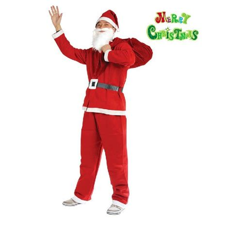 printable santa outfit adult santa claus christmas costume