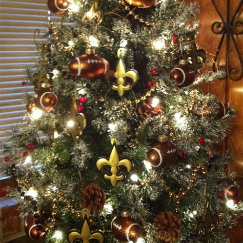 new orleans saints tree for the home let s get craftyy