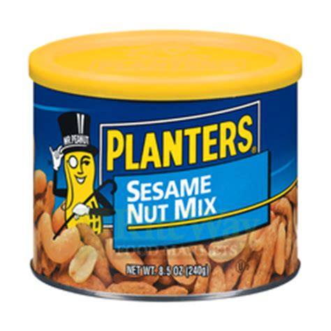 Planters Sesame Nut Mix by Riteway Food Markets Planters Sesame Nut Mix 8 5oz