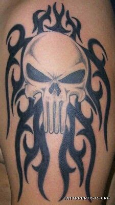 punisher tribal tattoo 313 best punisher images on punisher gun and