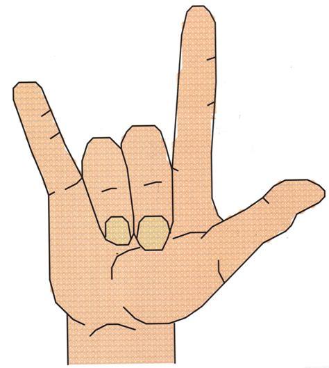 pattern language ebay i love you sign language cross stitch pattern ebay