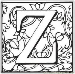 z coloring pages z coloring page free alphabets coloring pages