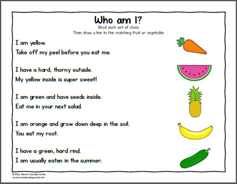 worksheets for preschoolers on fruits and vegetables fruit and vegetable worksheets for kindergarten and first
