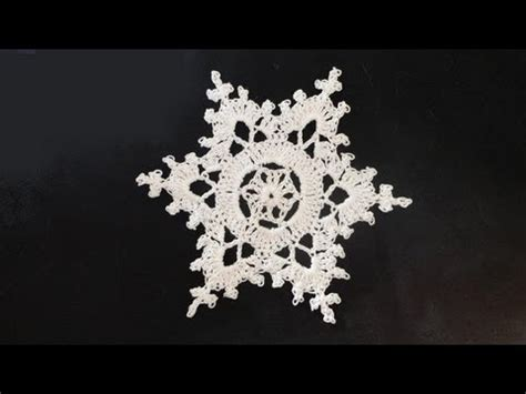 snowflake patterns youtube how to crochet snowflakes youtube