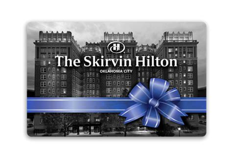 Hilton Hotels Gift Card - marcus gift cards skirvin hilton hotel bow gift card