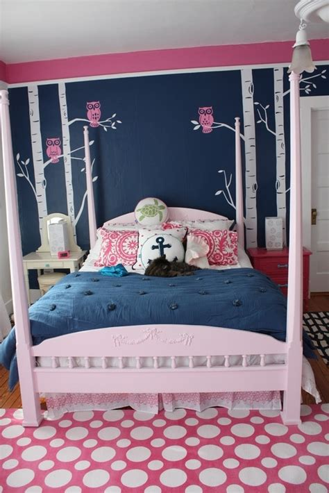 navy and red bedroom pink and bluebedroom walls for teenage girls 25 gorgeous