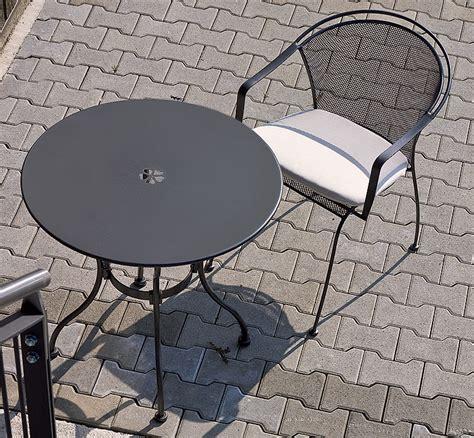 Klassische Sessel 1319 by Mbm Tisch Tondo 75 Rund Eisen 65 00 0404 Gartenm 246 Bel