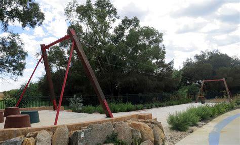 flying fox swing woodbridge riverside playground midland parenthub