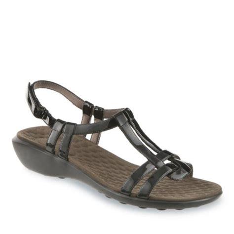 clarks privo sandals fisherman privo s mickie t sandal black