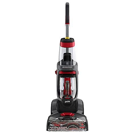 bissell bath bissell 174 proheat 2x 174 revolution pet carpet cleaner in titanium bed bath beyond