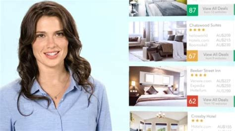 trivago commercial actress malaysia who is the trivago ad woman australia news world news