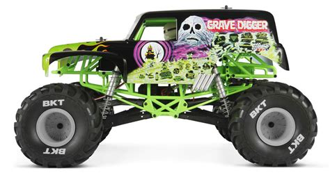 monster jam grave digger rc truck axial smt10 grave digger monster jam truck 1 10th scale
