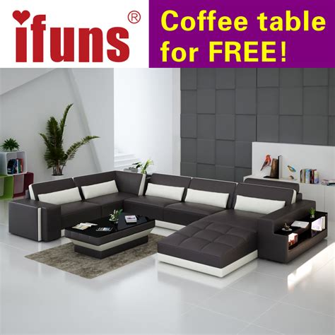 Luxury Leather Sofa Sets Ifuns Luxury Sofa Sets U Shaped Top Grain Italian Real Leather Sofa Set Living Room Furniture In