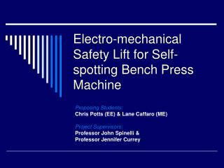 self spotting bench press ppt how to increase your bench press powerpoint