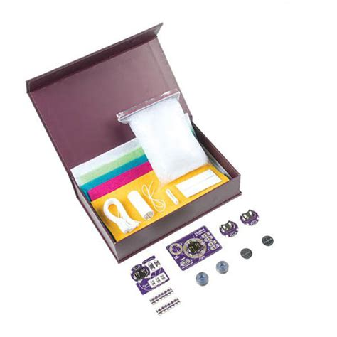 cool electronics lilypad sewable electronics kit get started in e sewing