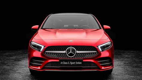 Mercedes 2019 Sports Car by 2019 Mercedes A200 L Sport Sedan 4k 3 Wallpaper Hd