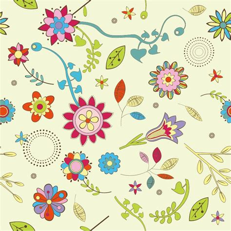 flower pattern vector graphics abstract flower pattern background vector graphic free