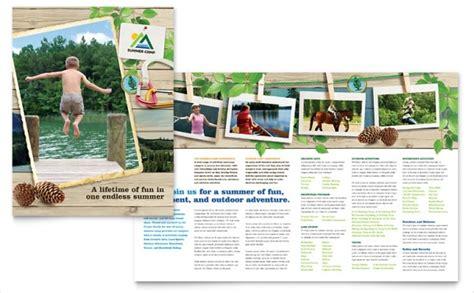 summer camp brochures psd vector eps jpg  freecreatives