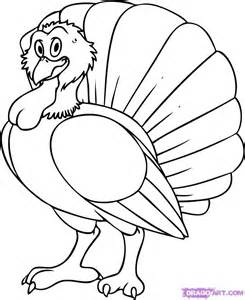 drawings of turkeys a bird az coloring pages
