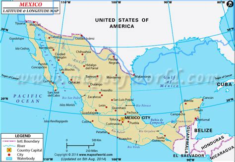 geographical map of mexico the problem air quality in mexico city