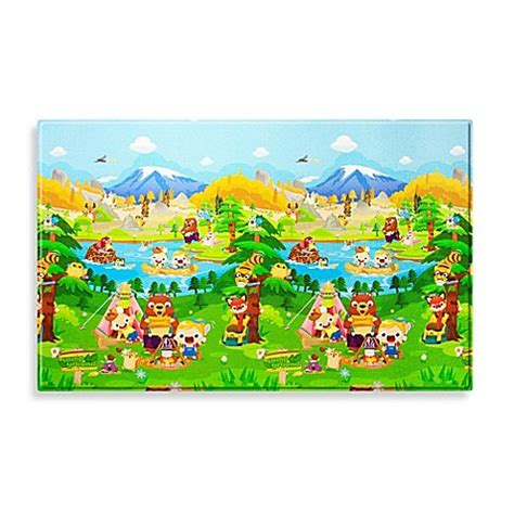 bed bath beyond baby baby care large baby play mat in let s go cing bed bath beyond best games