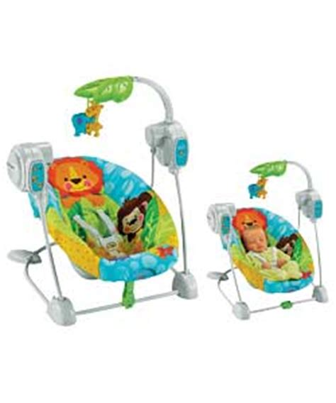 fisher price precious planet space saver swing and seat fisher price baby swing