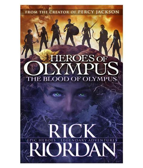 in the blood books heroes of olympus the blood of olympus paperback