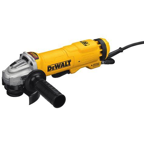 dewalt 11 4 1 2 in angle grinder dwe402w the home depot