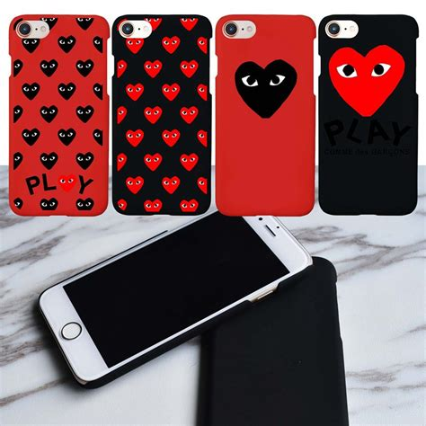 Iphone Cdg With Box cdg play comme des garcons rei kawakubo brand new for iphone 6s fashion japan