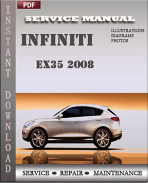 old car manuals online 2008 infiniti ex security system infiniti ex35 2008 service maintenance manual servicerepairmanualdownload com
