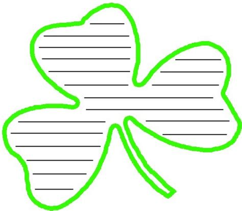 st patricks day writing paper st s day writing paper school in the classroom