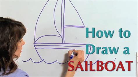 how to draw a boat with sails how to draw a sail boat great artist mom guided