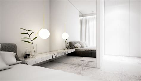 large bedroom mirrors white minimalist spaces that will make you forget all