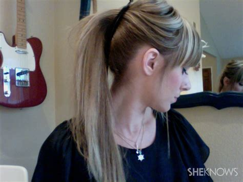 hair style wirh banana clip 3 easy alternatives to the mom ponytail