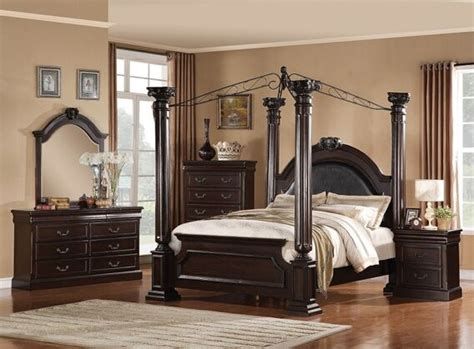 bedroom roman emperor headboard to complement your bed 5 pc roman empire ii collection dark cherry finish wood