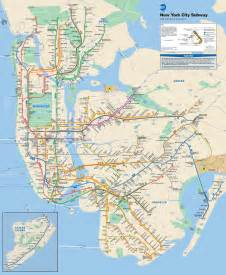 New York Subway Map by New York City Subway Map Wikiwand