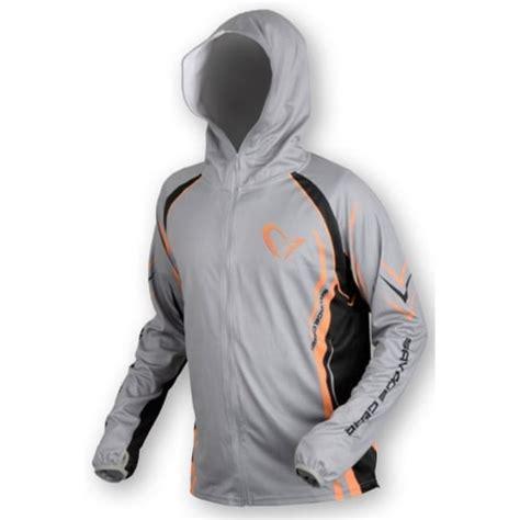 Hoodie Zipper Sweater Eiger savage gear sunprotec zip hoodie grey east tackle
