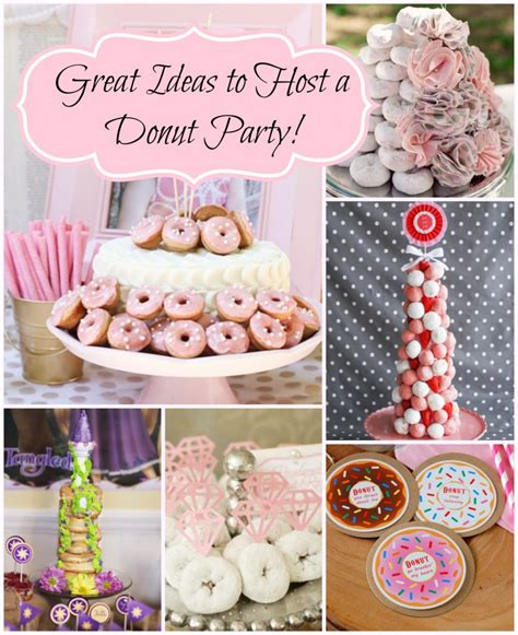 themes for photo projects donut birthday party a to zebra celebrations